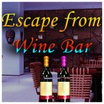 Escape from wine bar